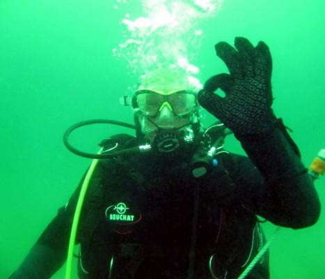 I de sidste par år har Roskilde Frømandsklub uddannet 25 nye dykkere, heraf 8 kvinder